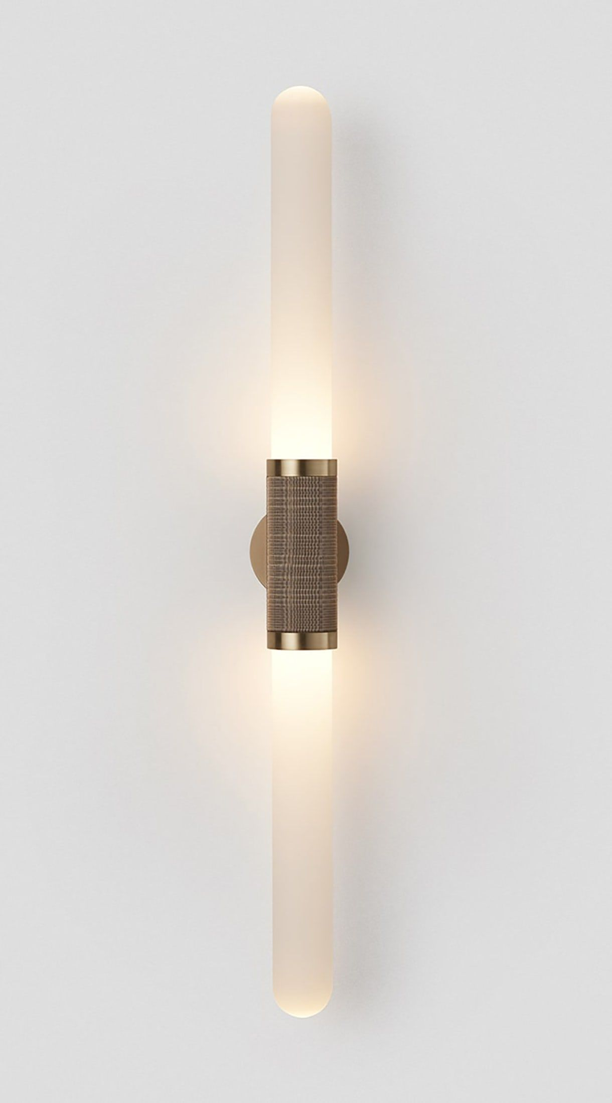 Scandal Long Wall Sconce Contemporary Transitional Glass Metal Sconce By Carlyle Collective Large Wall Lighting Sconces Wall Lamp