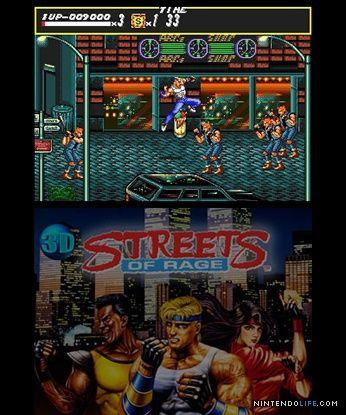 Review 3d Streets Of Rage 3ds Eshop Rage Eshop Street