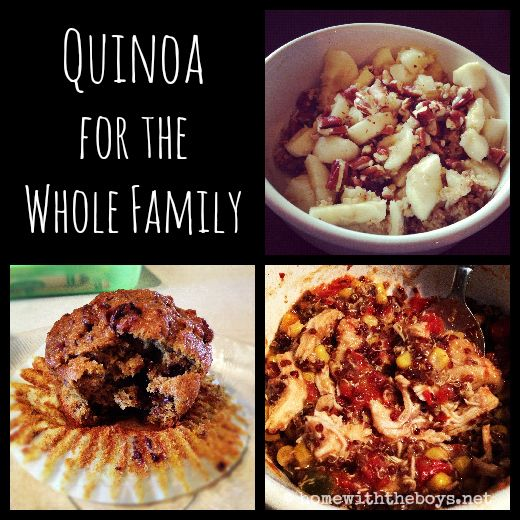 Quinoa recipes the whole family will enjoy!