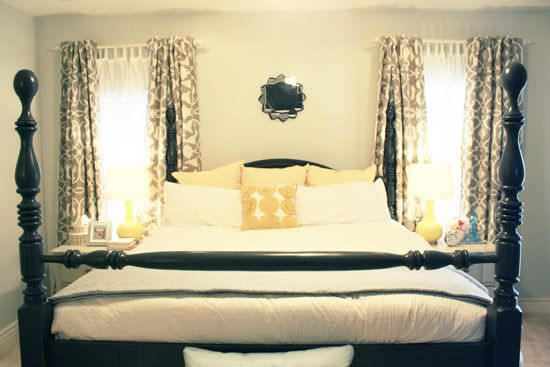 I want to do this to our bed!
