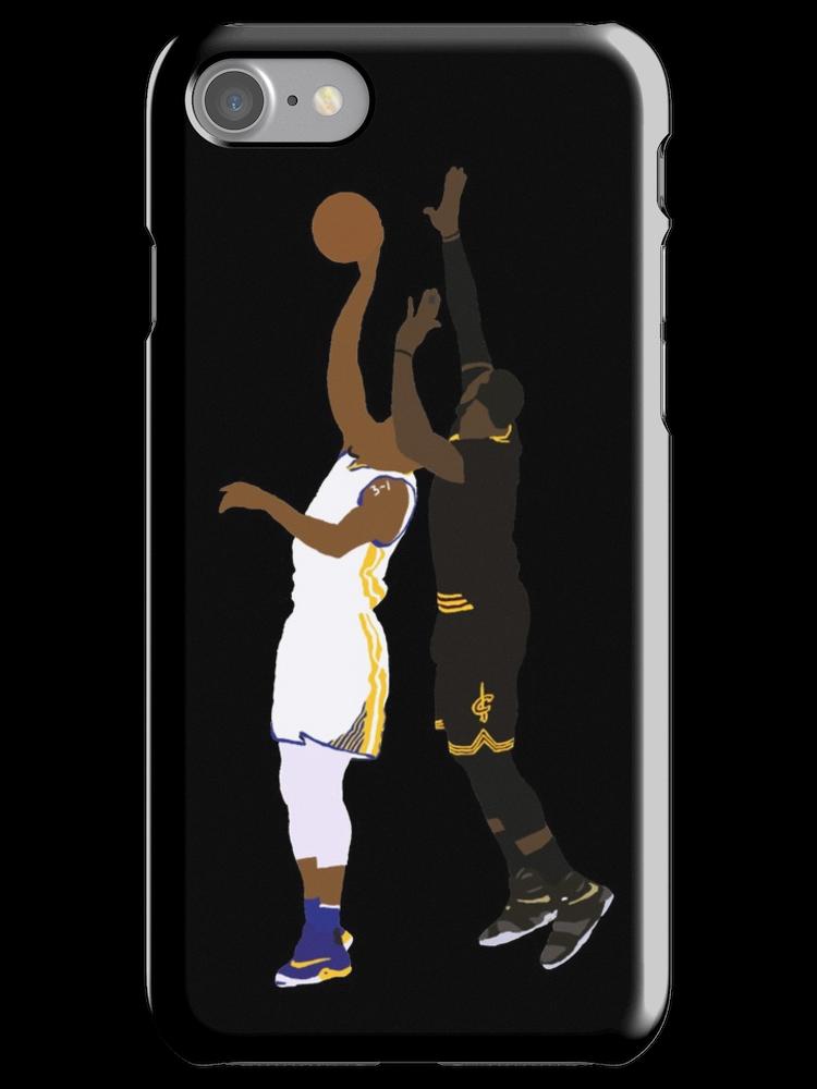 7ae3865ac42b LeBron James Block On Iguodala ' iPhone Case by RatTrapTees ...