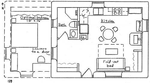 Less than 400 sq ft floor plans | Floor Plan