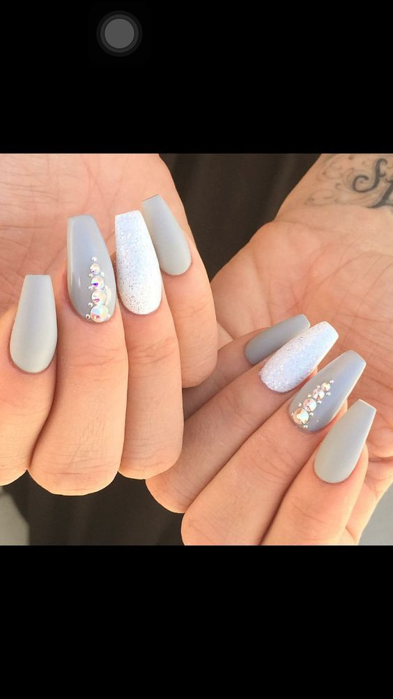 60 Eye Catching Acrylic Coffin Nails Designs For Prom #29 | Prom ...