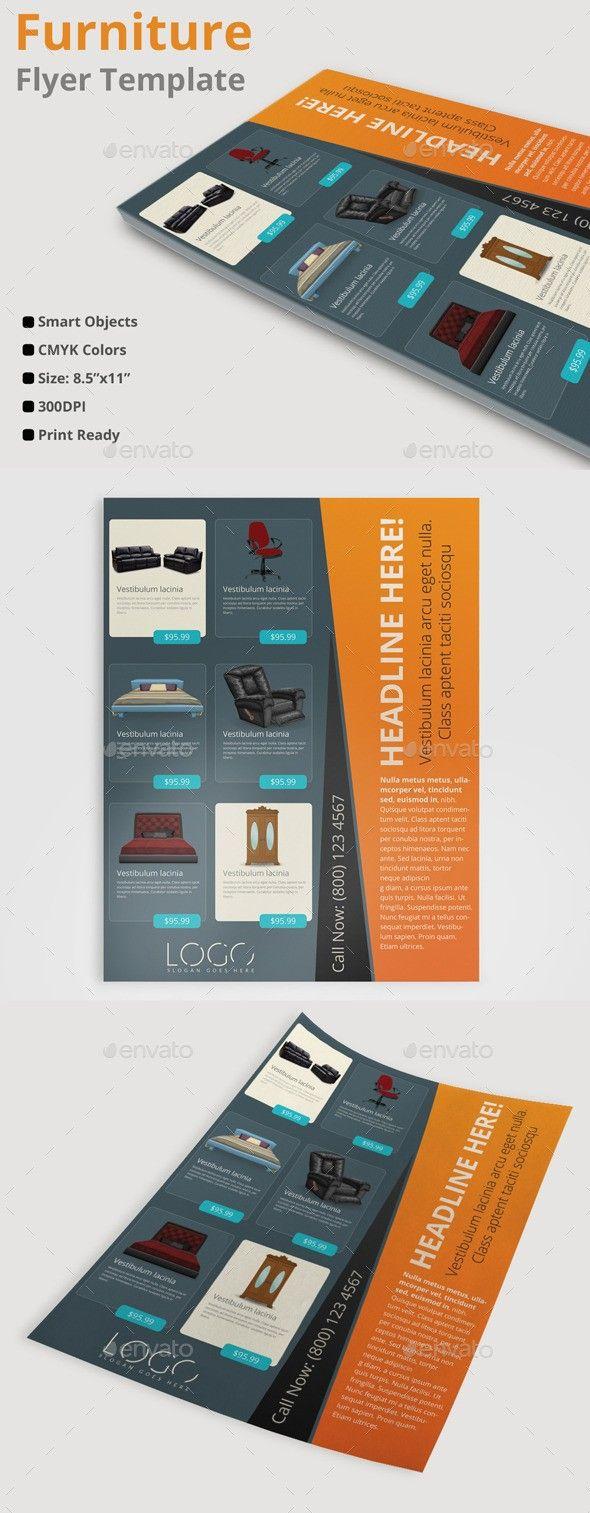 Business Corporate Design Flyer Furniture Image Light Magazine Ad Modern Multipurpose Poster Presentation Print Sales Style Template Text Furnit