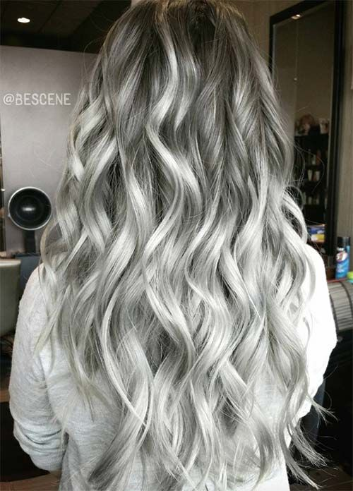 85 Silver Hair Color Ideas and Tips for Dyeing ...