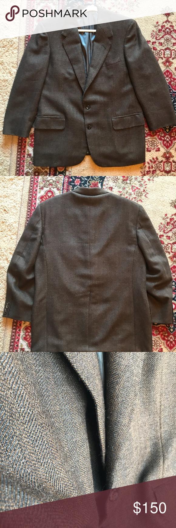 Vintage Oxxford pure alpaca suit jacket blazer Super soft