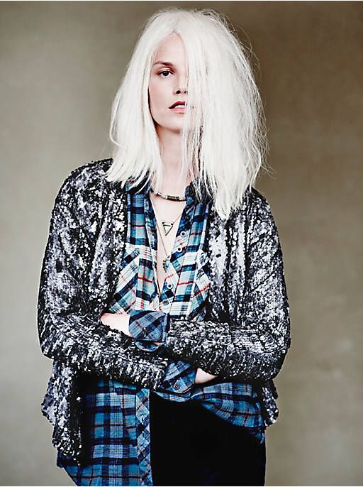 Free People Drippy Sequin Jacket, $298.00