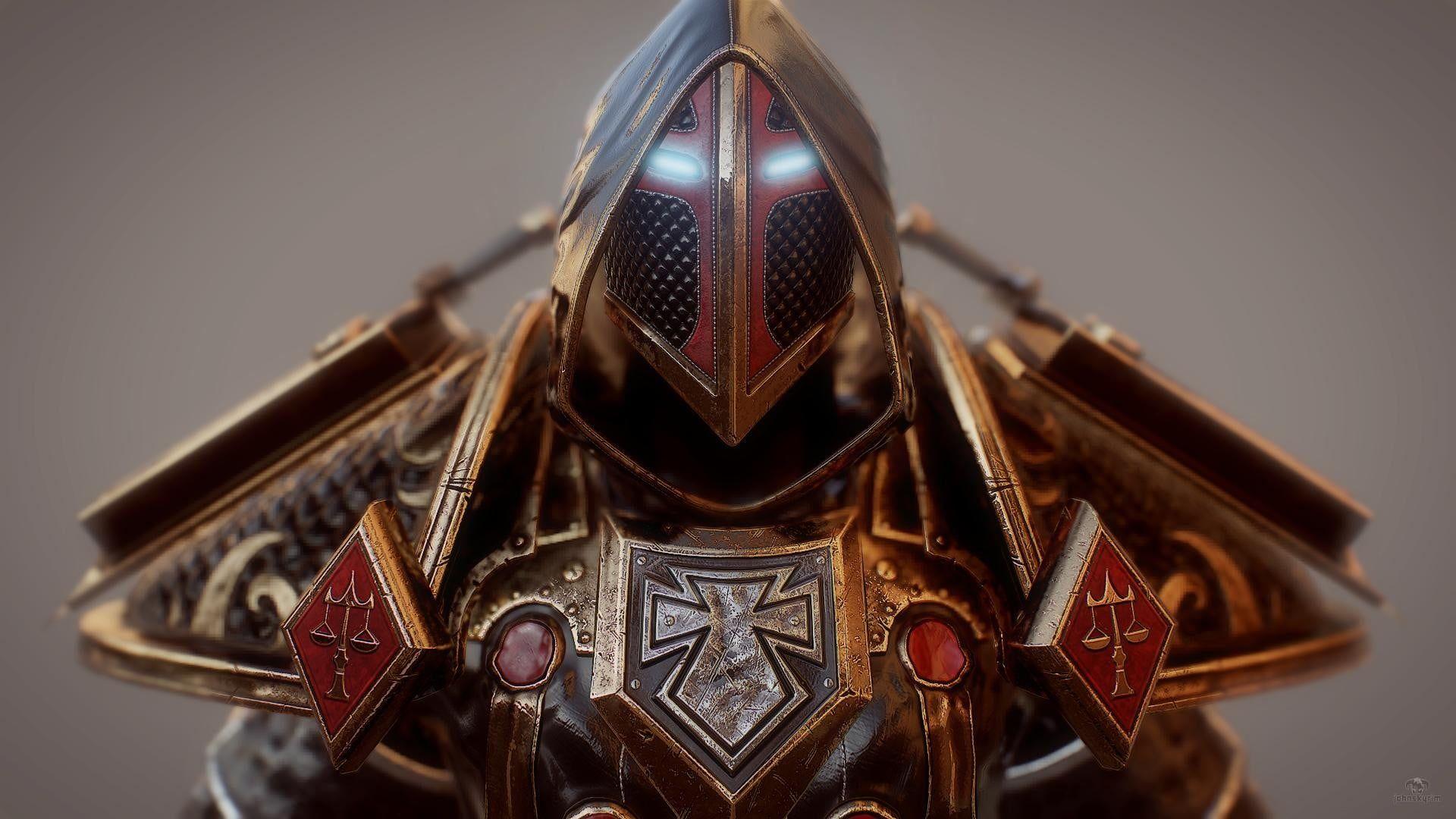 Gold Armored Knight Wallpaper World Of Warcraft Paladin Video Games 1080p Wallpaper Hdwallpaper Desktop Paladin World Of Warcraft Warcraft