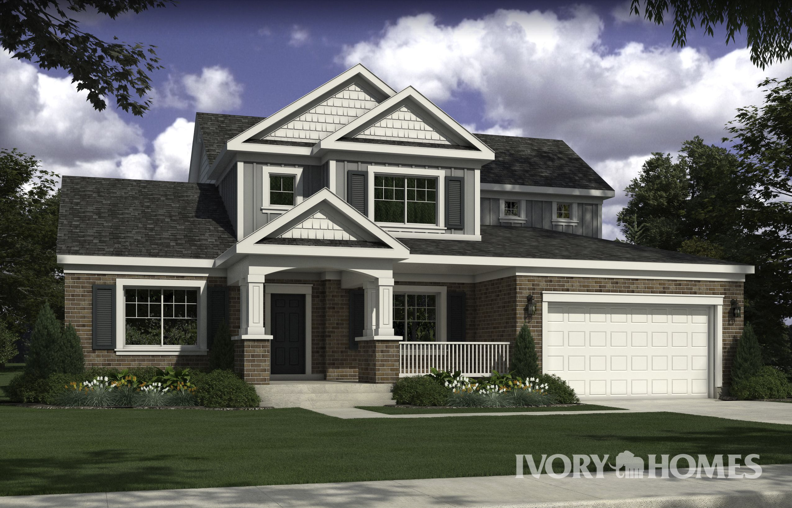Ambleside House Design Craftsman Style Homes Traditional House