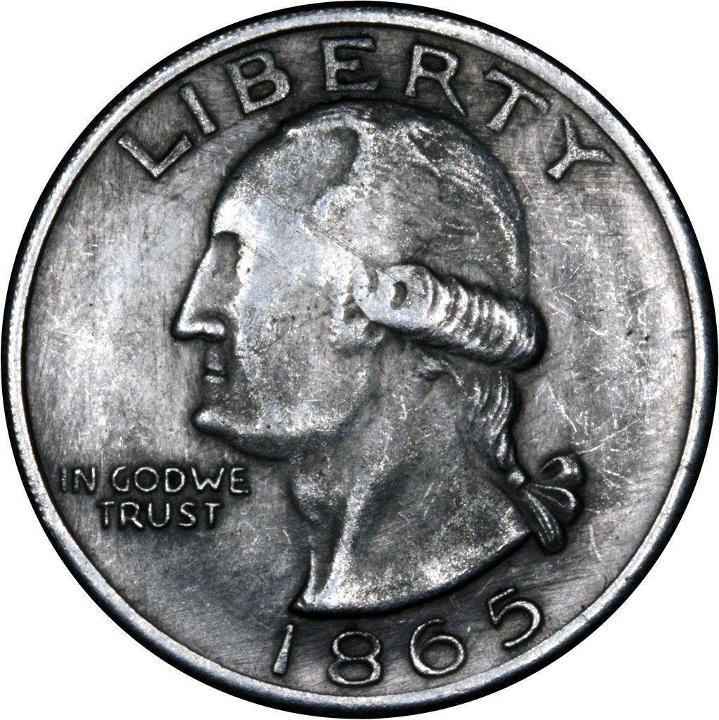 1865 Fake Usa Silver 1 One Dollar Obverse One Dollar Dollar Silver Coins