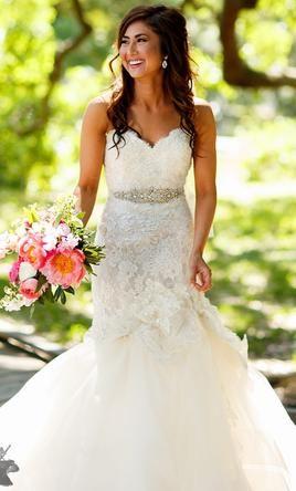 Lazaro 3415 Wedding Dress Used Size 10 2 500 Wedding