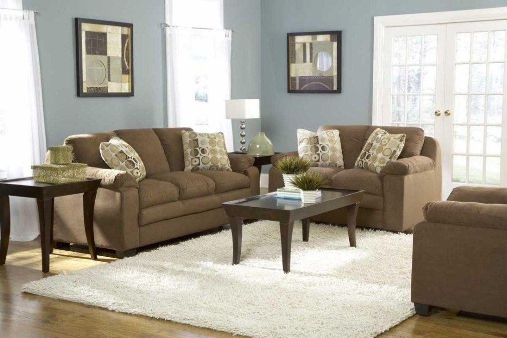 Cool Brown Sofa Ideas For Living Room Decor 39 Brown Living Room Brown And Blue Living Room Brown Couch Living Room