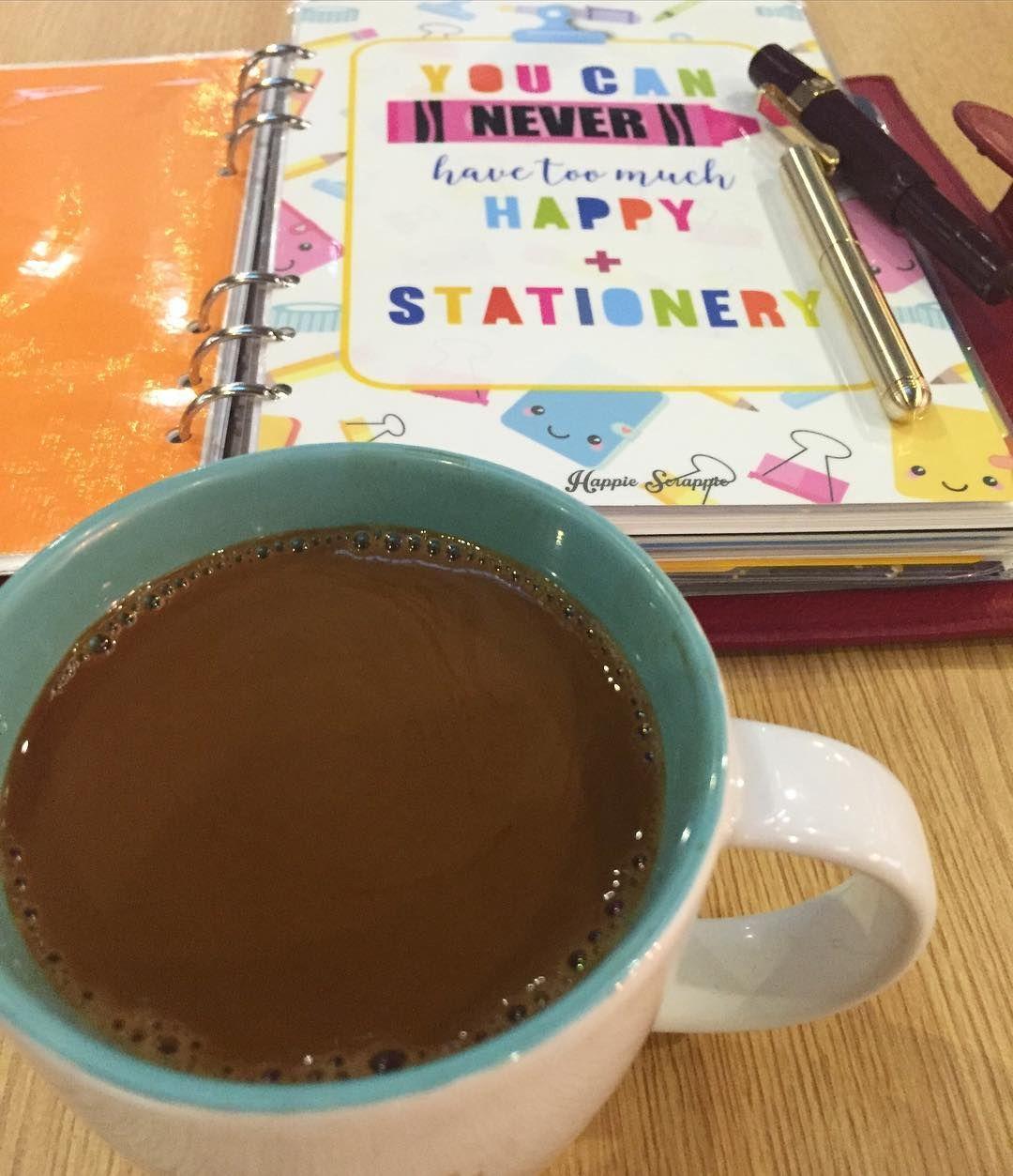 Choose your feeling wisrly because you attract what you feel. Anf today I feel coffee!! #coffee #coffeecup #coffeeaddict #coffeenerd #coffeetime #coffeeholic #kopi #kopiku #localcoffee #sukakopi #stationery #fpgeeks #fountainpen #lamy #kaweco #kawecosport #planner #filofax #filofaxaddict #filofaxcalipso by xaverian94