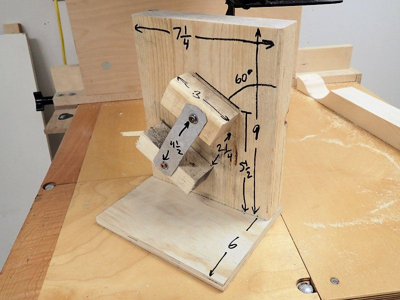 Making A Band Saw Blade Sharpening Jig Palīgierīces