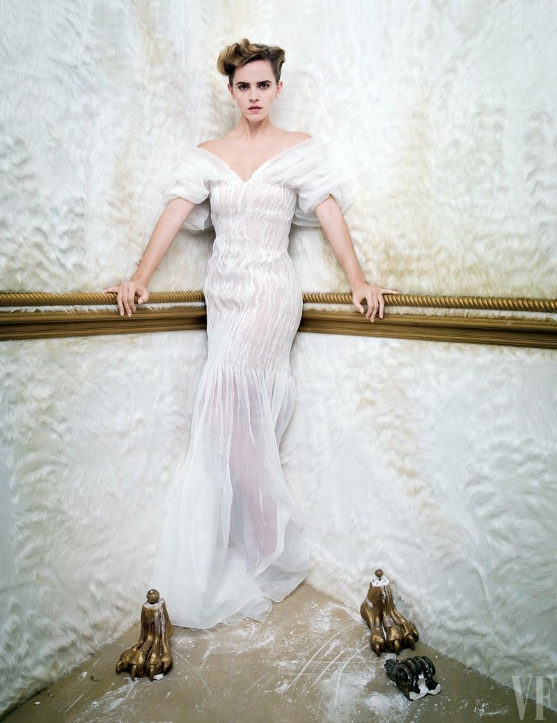 Emma Watson Vanity Fair March 2017 Photoshoot | Celebrity Fashion ...