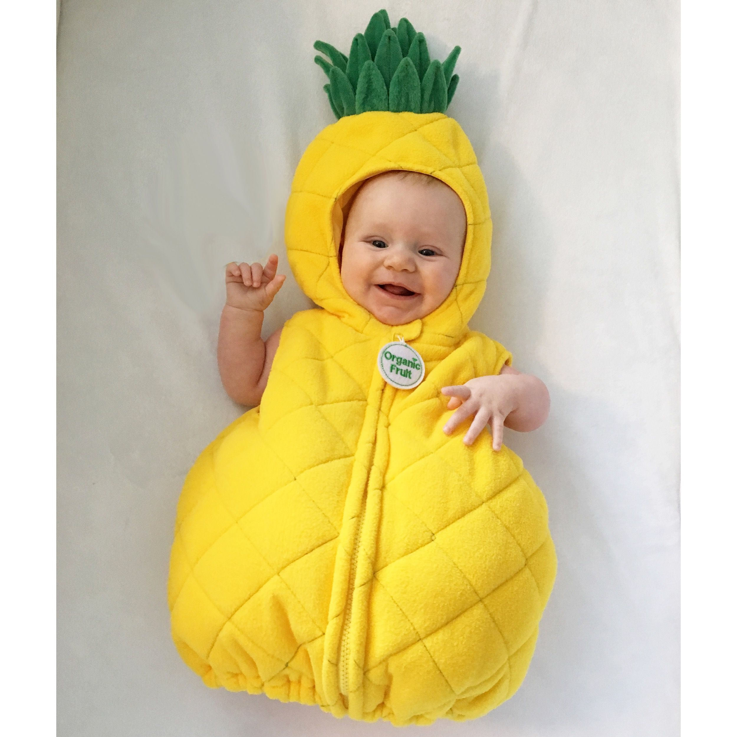baby girl 3 months old pineapple halloween costume pineapple babygirl