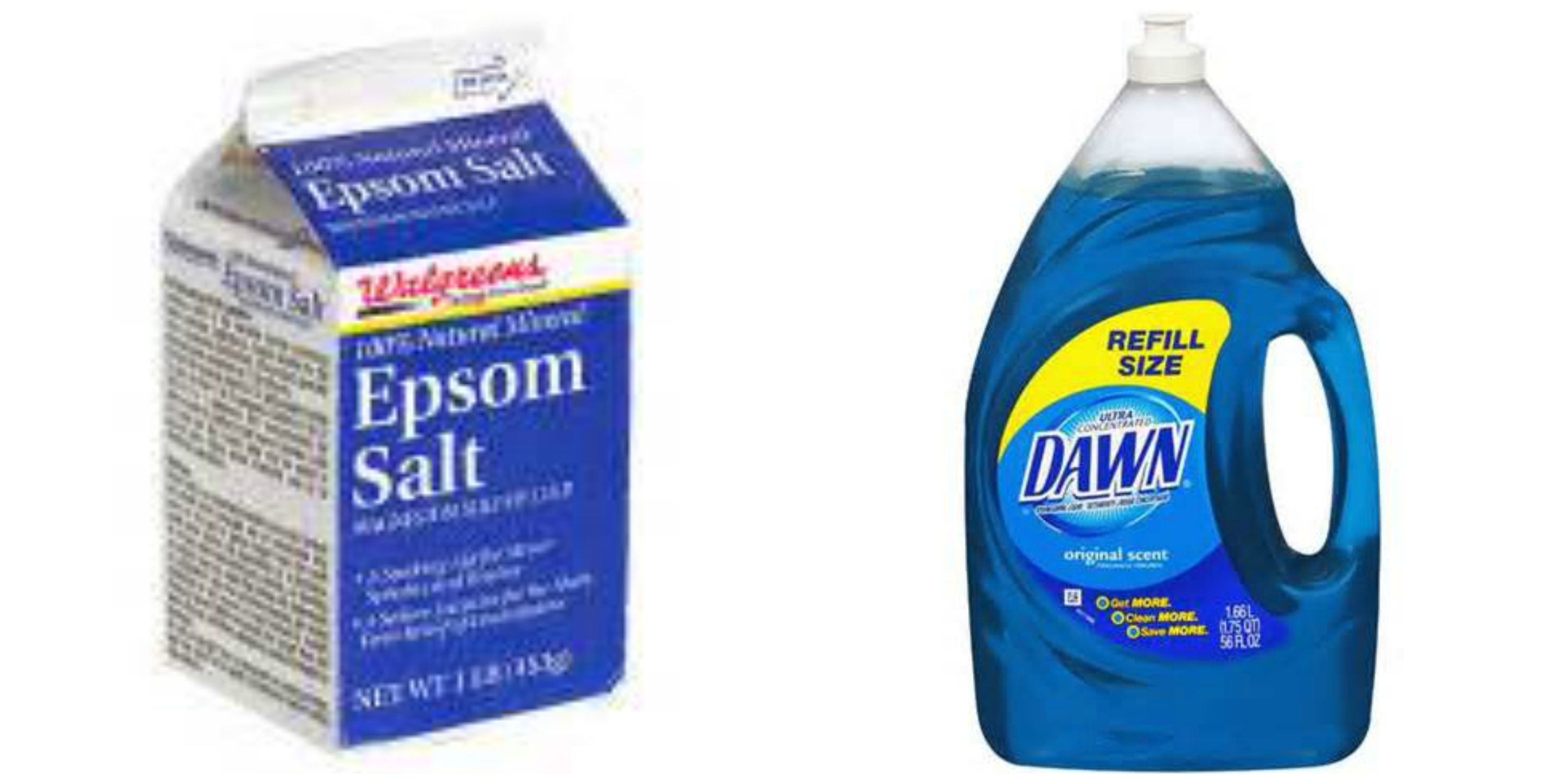 Clean bathroom tiles with equal parts of Epsom salt and liquid dish ...