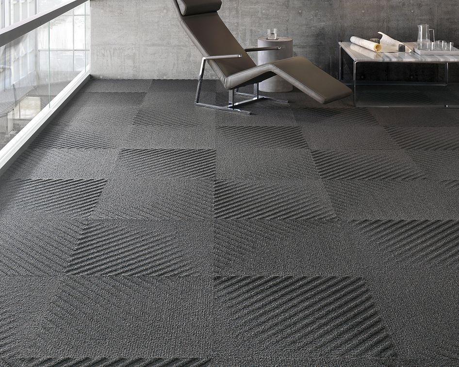 Mohawk Group Moving Floors Collection 45 Degree Diagonal Texture Carpet Tile