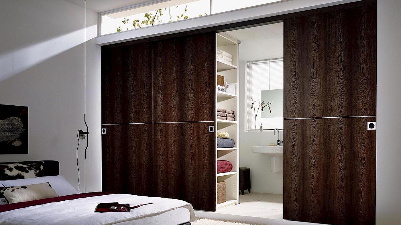 Raumtrenner Schiebetüren für Bad und Schlafzimmer | Raumtrenner ...