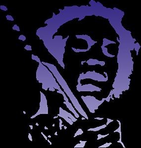 Pin By Karen On Rock Jimi Hendrix Art Silhouette Art Jimi Hendrix Tattoo