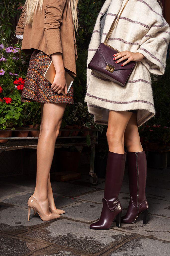 Caroline De Surany Shoote La Nouvelle Collection De Cosmoparis Chloe Handbag Addict Stylish Winter Warmers Warmers