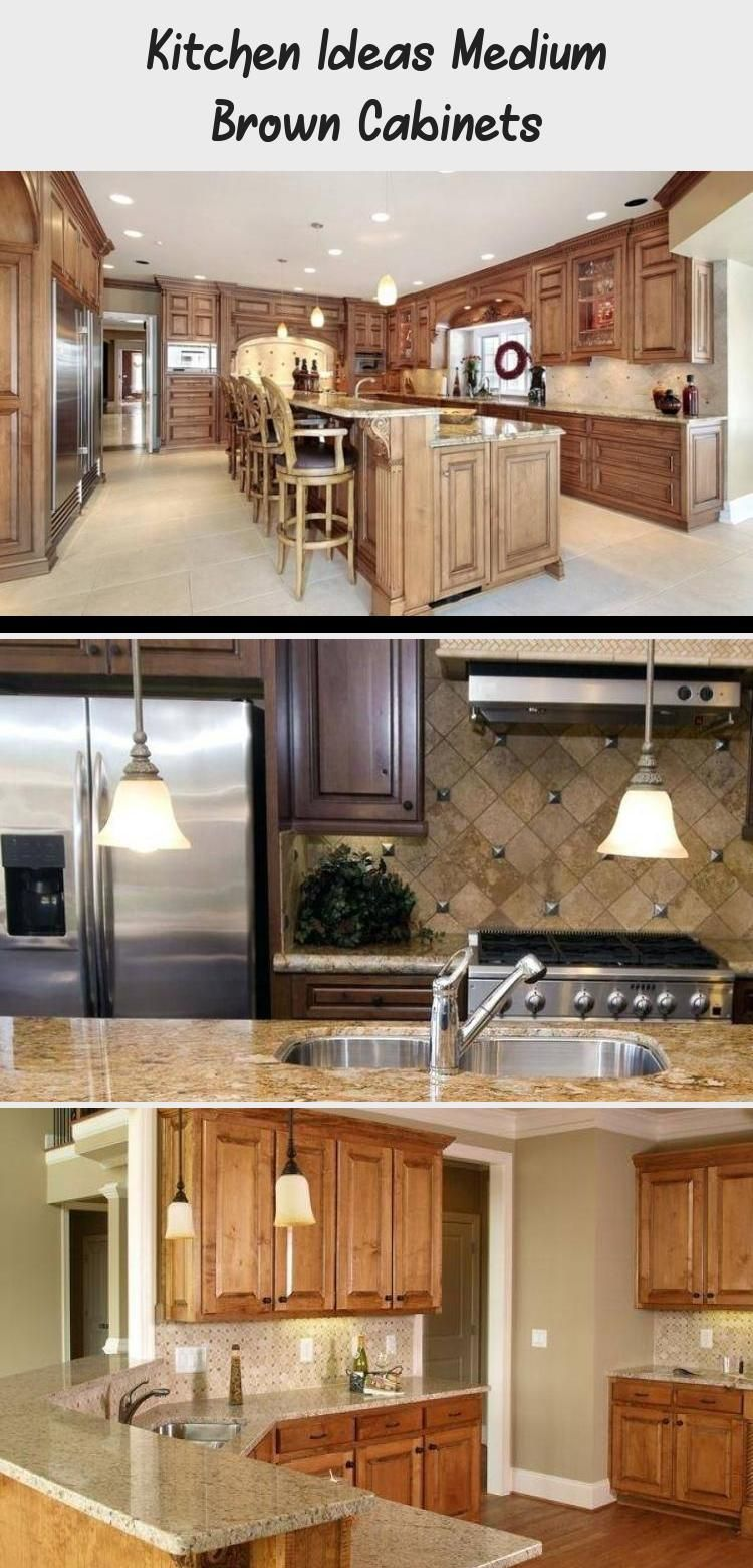 En Blog En Blog In 2020 Brown Cabinets Kitchen Ideas Medium Brown Cabinets Dark Brown Kitchen Cabinets