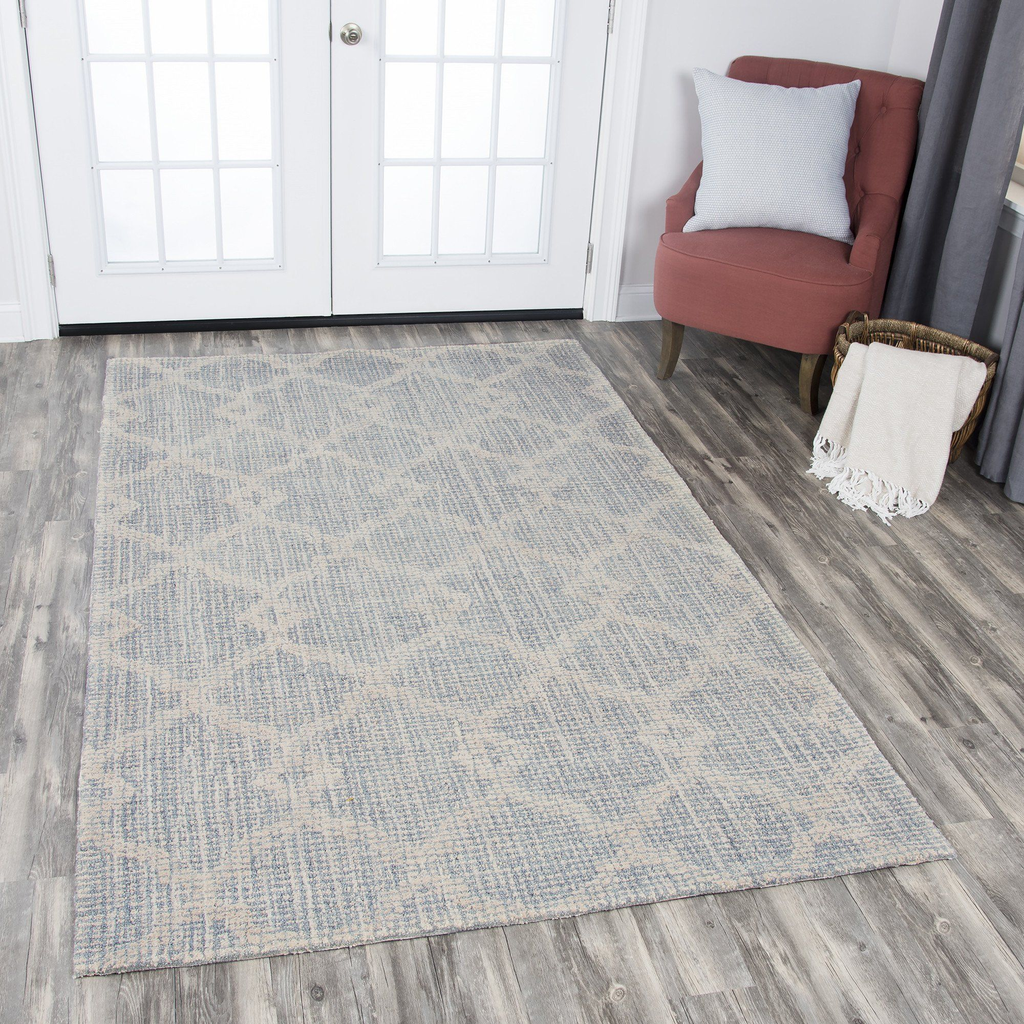 Rizzy Home Opulent OU938A Natural Tribal Motif Area Rug