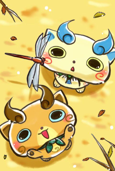 Komasan And Komajiro So Cute Yokai Watch Watches