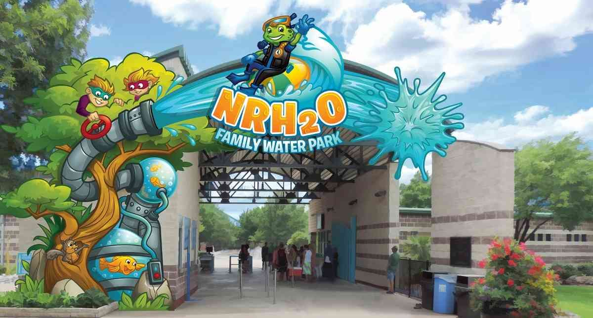 Concept Art For Nrh20 Family Water Park Designed By Forrec
