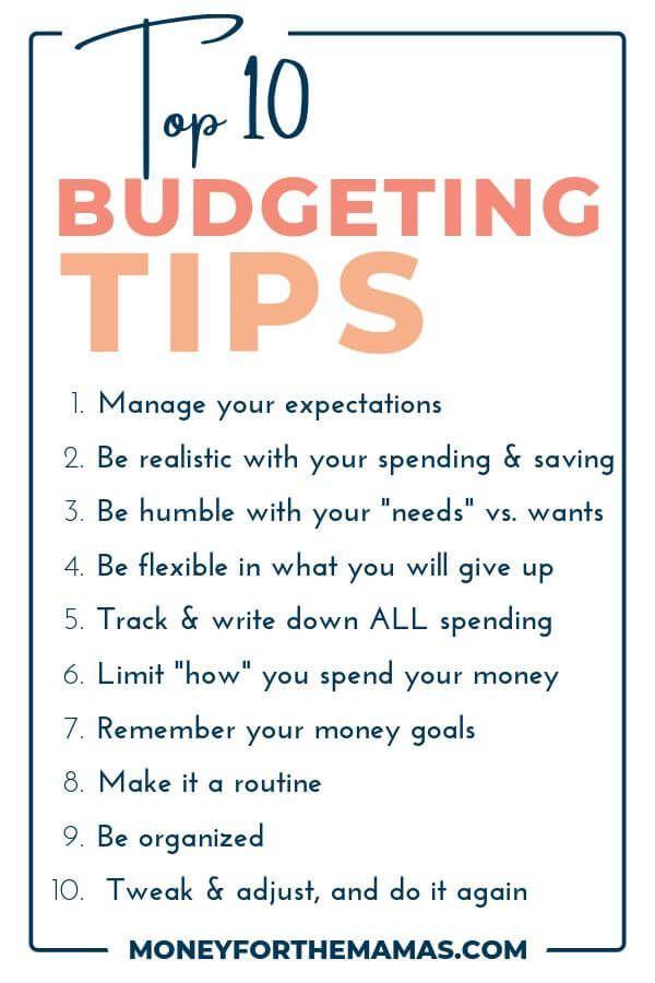 Die Top-Budgetierungstipps, die Sie wissen MÜSSEN!   – Saving Money & Budgeting
