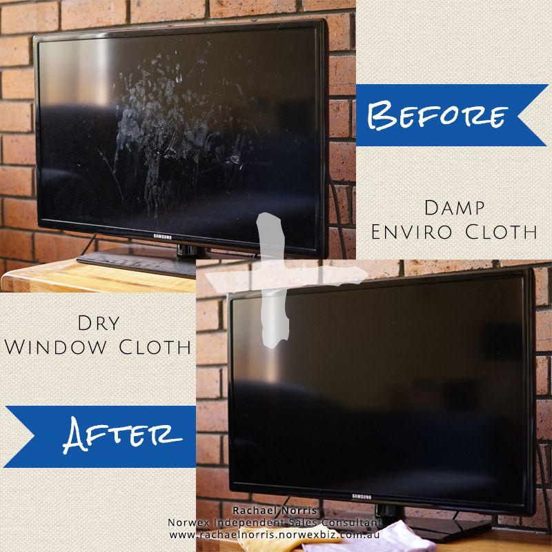 norwex enviro cloth and window cloth clean your tv screen with a damp water only enviro cloth. Black Bedroom Furniture Sets. Home Design Ideas