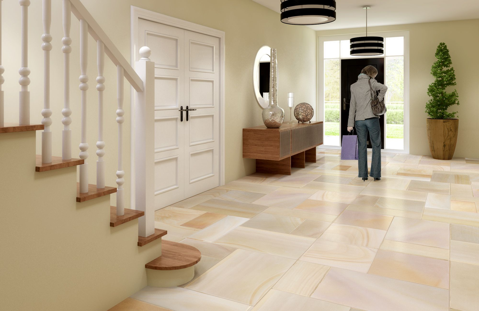 Accessories & Furniture Dazzling Natural Stone Floor Tile