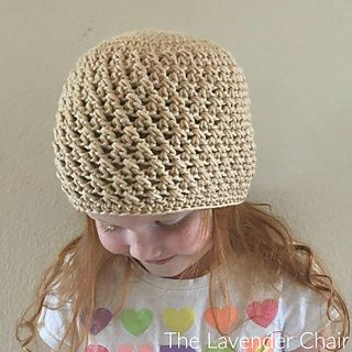 Crossed Double Beanie pattern by Dorianna Rivelli | Crochet