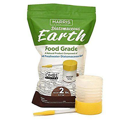 Harris Diatomaceous Earth Food Grade, 2lb with Powder