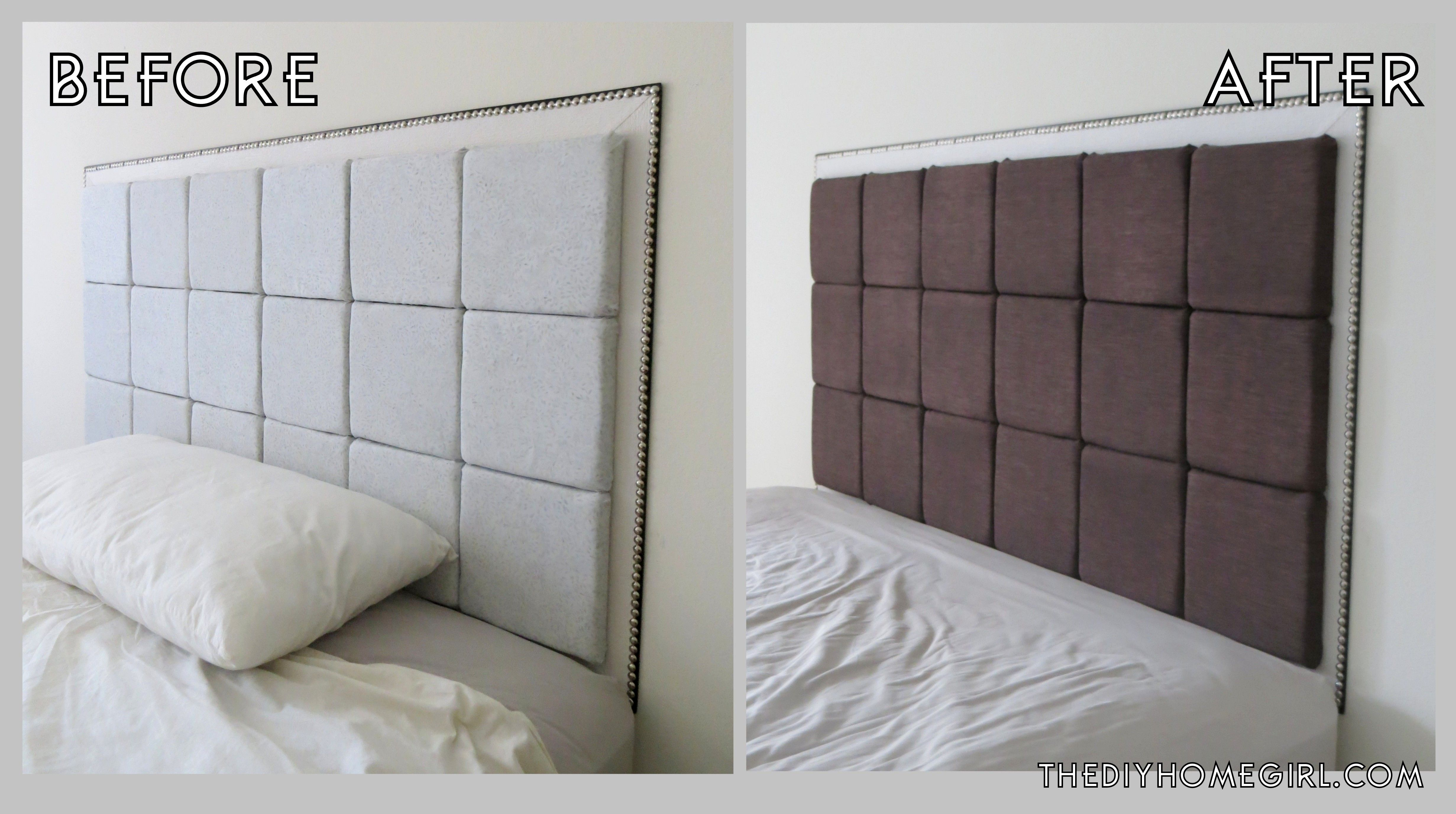 Diy Easy Padded Headboard Tutorial Fabric Headboard Floating Headboard Headboard Tutorial