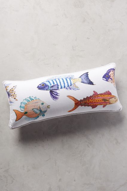 Summer Fun Oars Decorative Pillow