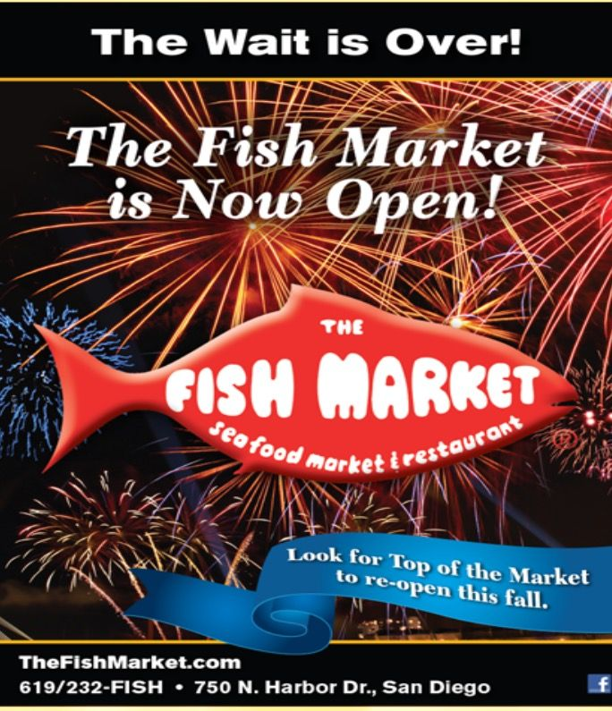 Fish Market Restaurant San Diego Ca Est 1986 The Fish Market Fresh Fish San Diego