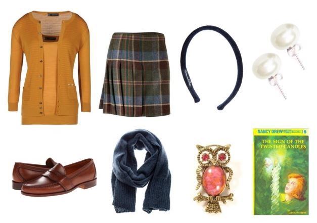 nancy drew and 3 more simple literary costume ideas for