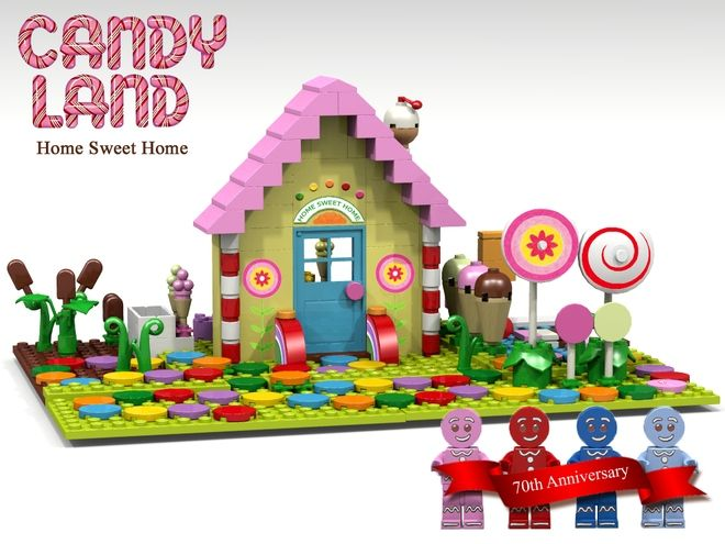 lego ideas candy land home sweet home lego pinterest best lego ideas candy land and. Black Bedroom Furniture Sets. Home Design Ideas