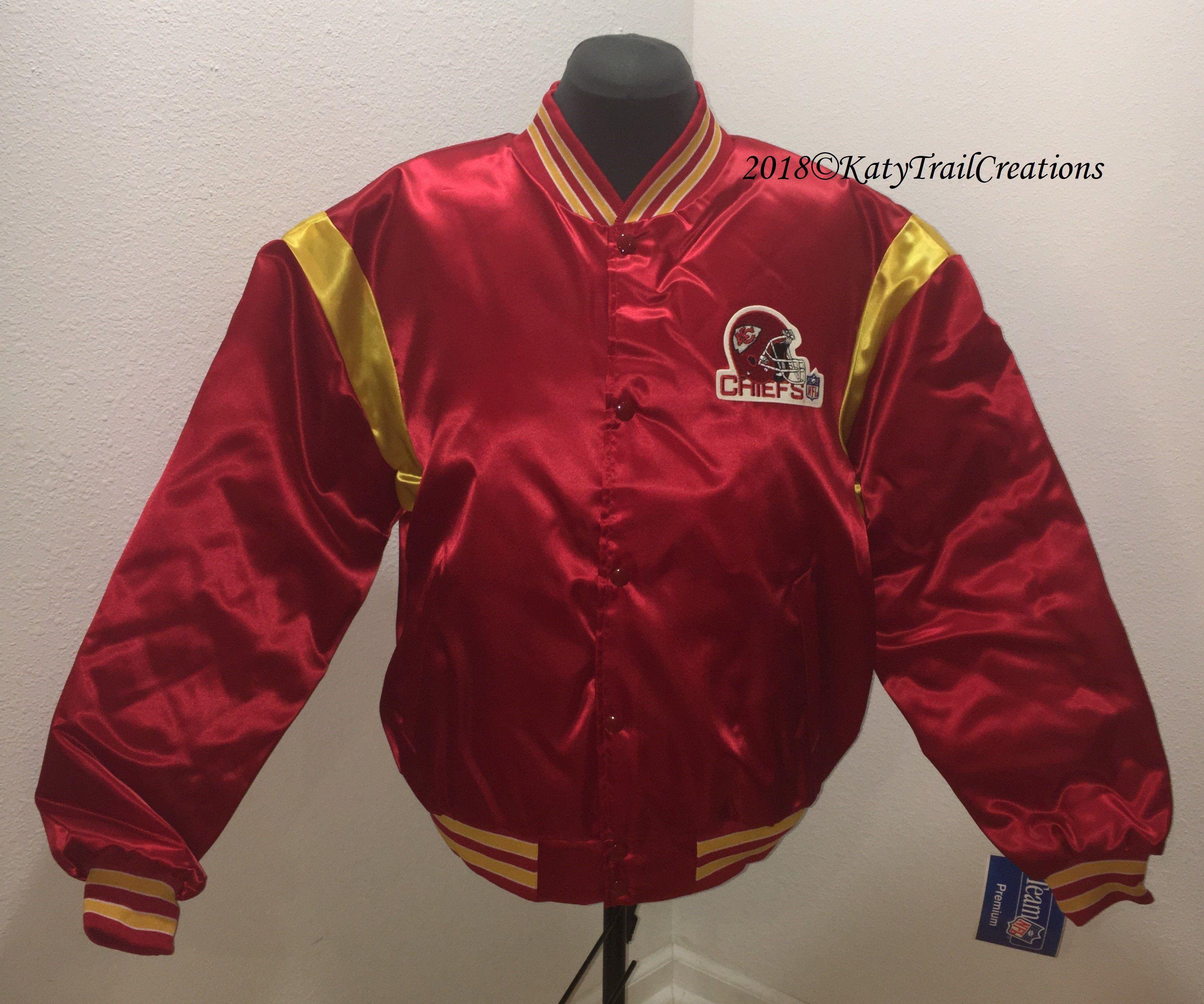 Vintage Brand New 1992 Nfl Kansas City Chiefs Bomber Jacket Etsy Bomber Jacket Etsy Vintage Branding Jackets [ 2479 x 2971 Pixel ]
