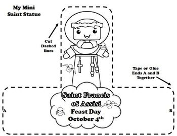 Preschool Craft Of St Francis Of Assisi
