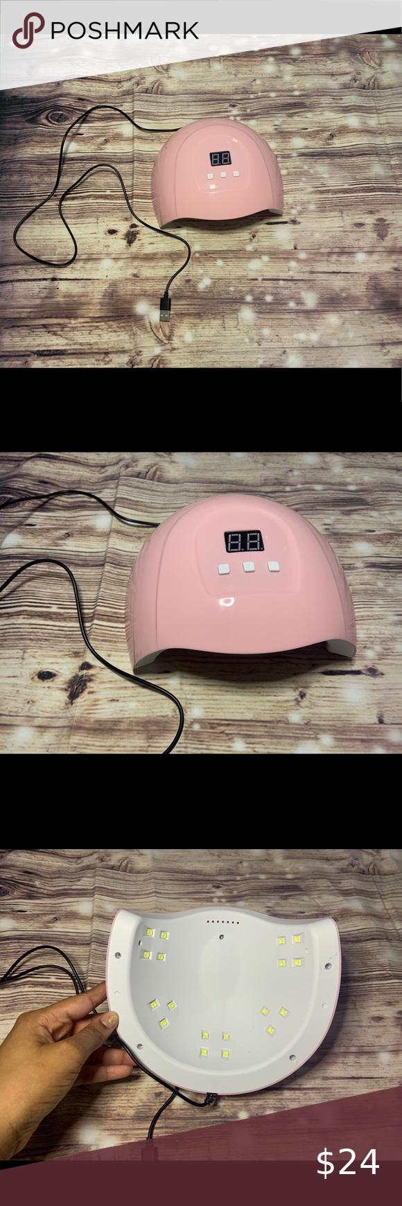 Pink Nail Smart Tech Lamp
