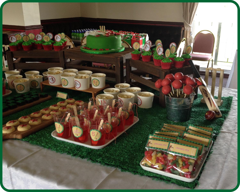 Cricket Party Table Decor Birthday party themes, Cricket