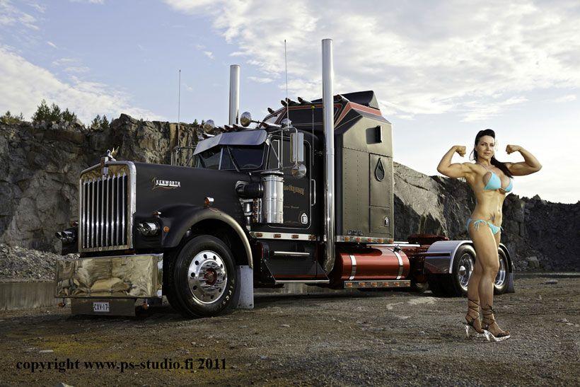 Semi Truck Nude Girls