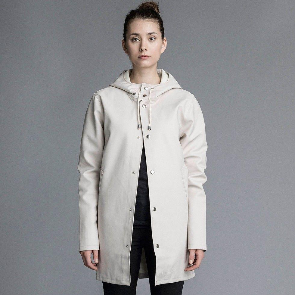 4802cd8c00ed stutterheim, stockholm, light sand, raincoat, rainwear, sweden, swedish