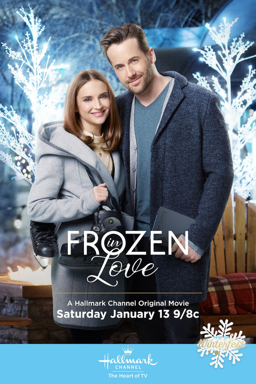Frozen In Love Rachael Leigh Cook And Niall Matter Discover That Polar Opposites May Attract Hallmark Movies Romance Hallmark Movies Christmas Movies On Tv