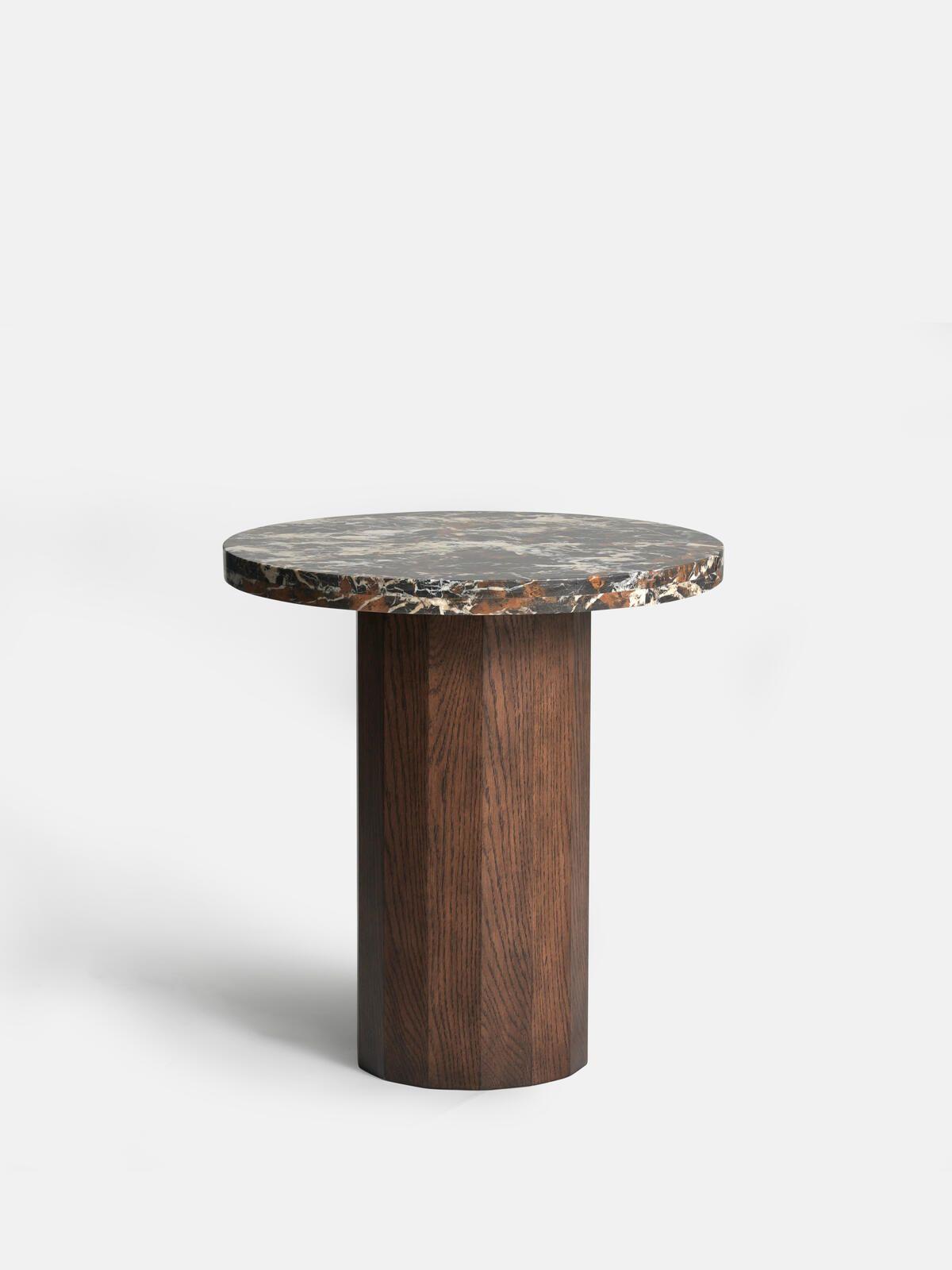 Burnsall Side Table Walnut Base Soho Home Dining Table Marble Side Table Marble Dining [ 1600 x 1200 Pixel ]