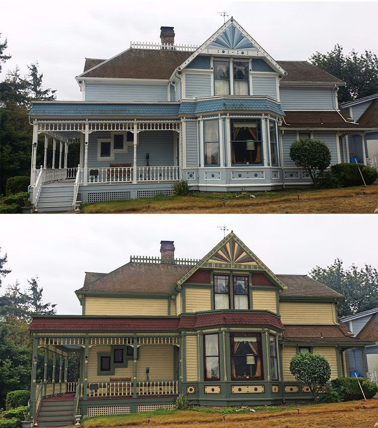 Color Placement Mistakes Are Corrected With Historic Victorian Paint Colors Historic Paint Colours House Makeovers Historic Renovation