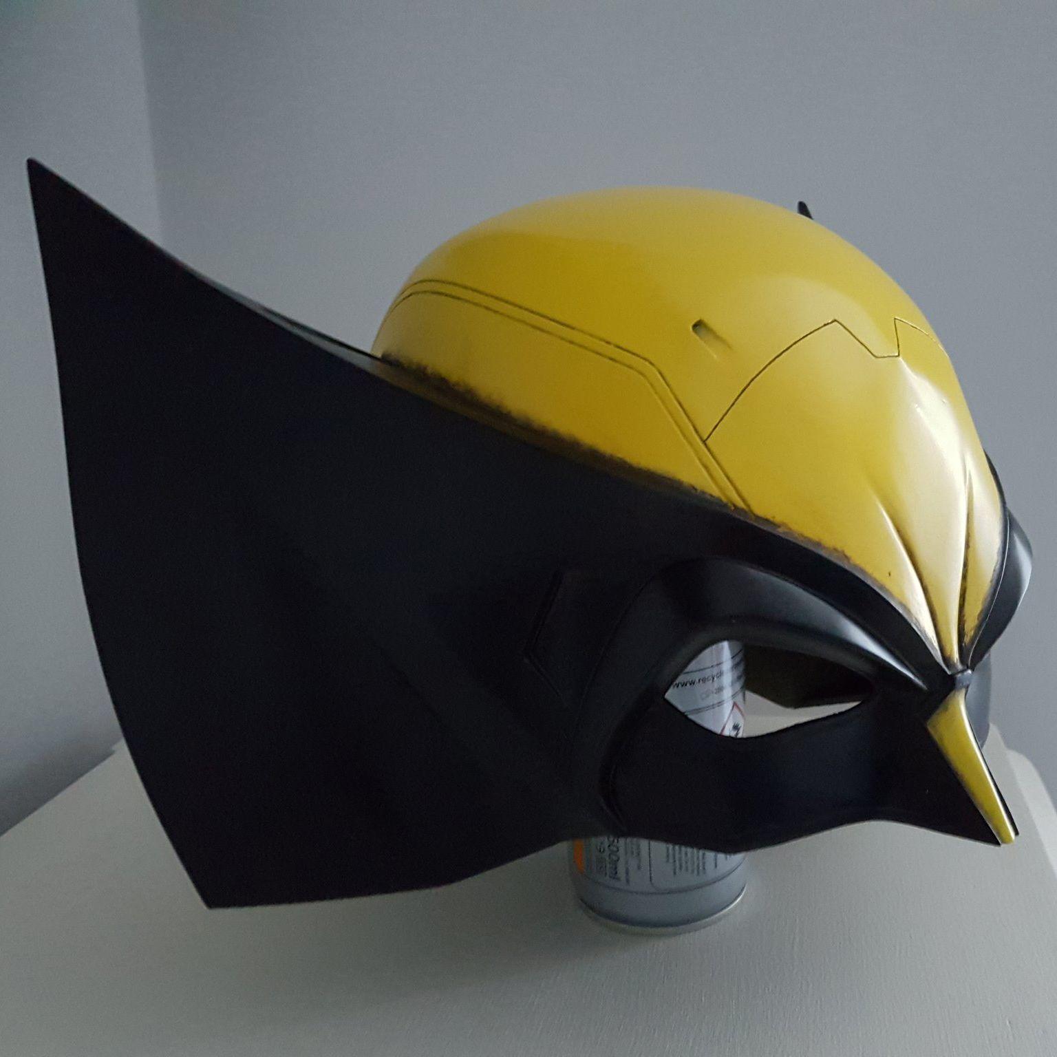 3D Printable Model: X-Men Wolverine Classic Helmet Mask Cowl