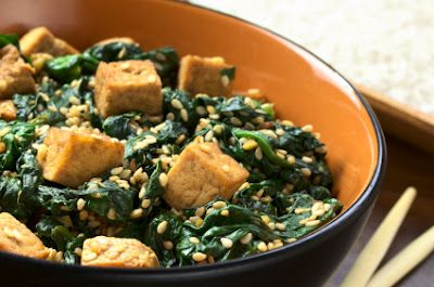 Your Diet Diva - Lose Weight Fast: Sautéed Tofu and Spinach